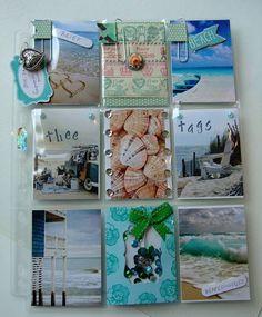 Beach theme pocket letter
