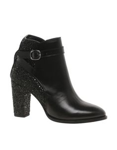 Markus Lupfer Glitter Wrap Midi Ankle Boots