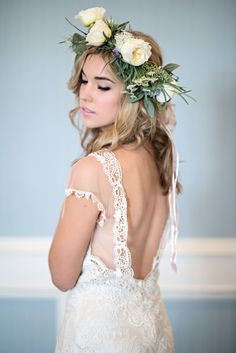 Claire Pettibone dress / Kristen Weaver Photography
