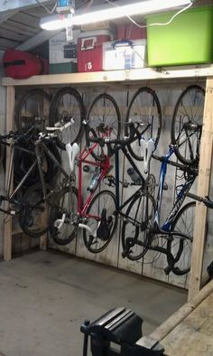 Are you someone that has a messing garage that is not organized. Right here are 42 garage storage ideas that will help you organize your garage like a champ. Diy Toy Storage, Diy Garage Storage, Shed Storage, Storage Ideas, Storage Hacks, Bicycle Storage Garage, Storing Bikes In Garage, Bike Racks For Garage, Bike Storage Basement