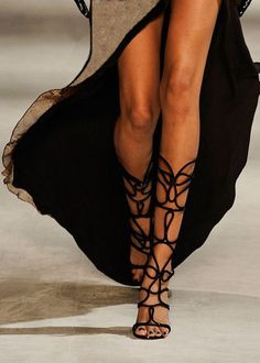 A pair of gladiator heels that would actually compliment my rather skinny legs.