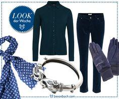 #blue #look by Brigitte von Boch #bevonboch