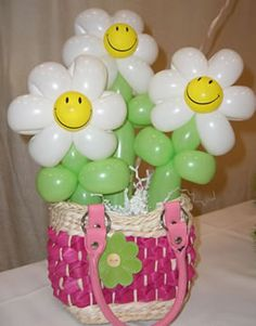 Balloon+Arrangements | Orange County CA Balloon Centerpieces & Arrangements | Signature ...