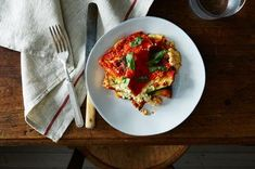 Vegan Lasagna with Roasted Vegetables Recipe on Food52 recipe on Food52