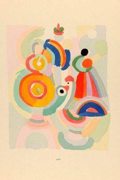 * Sonia Delaunay, 1915