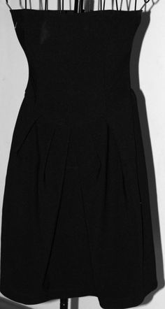 Womens Dress Eighty Six size small Strapless black 97P/3S casual cute #EightySix #cute #Casual