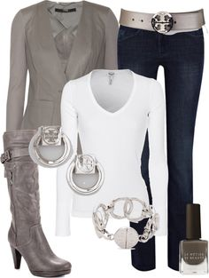 """Couture Chic Designs~Outfit Tory Burch"" by jgalonso on Polyvore"