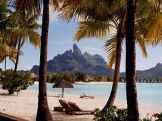 : A Guide to Bora Bora, Tahiti, Dream Vacations, Vacation Spots, Beautiful Islands, Beautiful Places, Oh The Places You'll Go, Places To Visit, Bora Bora Resorts, Society Islands, Prince