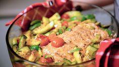Salmon al horno, salmon a la bolsa para horno knorr Recetas Cancheras