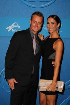 Lleyton Hewitt and his wife were also in attendance.