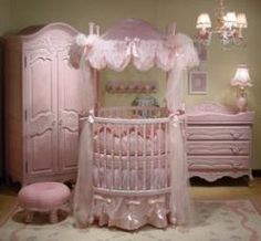 Baby Furniture... pretty in pink armoire