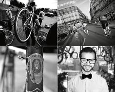 Bikes / Identity by Michael Gad, via Behance