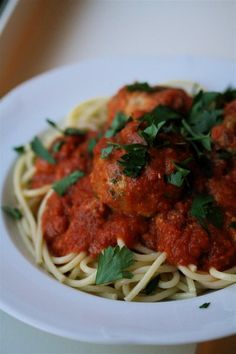 spaghetti and meatballs a piperade with shaved fennel # fallfest ...