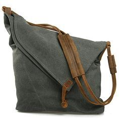 EcoCity Unisex Hobo Canvas Cross Body Handbag Purse Messenger Shoulder Satchel Bag School Bags HB0065G3 (Grey) EcoCity http://www.amazon.com/dp/B00JYSD6YQ/ref=cm_sw_r_pi_dp_AEWTvb18P727G