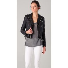 Womens Motorcycle Jackets, Blk Dnm Leather Motorcycle Jacket