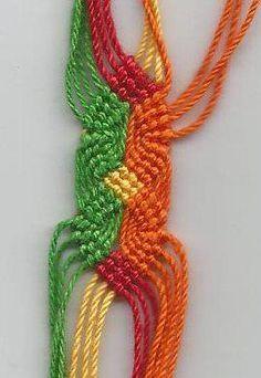 Tutoriel - amitié bracelets.net