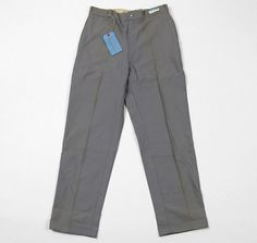 "1950s-60s Sears ""Mountain Cloth"" Work Pants, Deadstock"