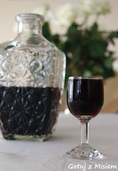 Polish Recipes, Polish Food, Red Wine, Alcoholic Drinks, Food And Drink, Homemade, Bottle, Bar Stuff, Mead