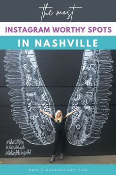 Have you been to Nashville, Tennessee yet? You haven't? Well, you better get down here! Today I'm sharing with you some of the most Instagram worthy sports in Nashville. That alone is a great reason to come here! And the music! And the food! See you in Nashville! #tennessee #nashvilletravelguide #traveltheus