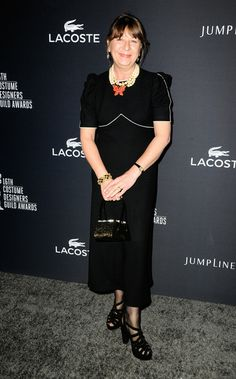 Costume designer Ann Maskrey attends the 16th Costume Designers Guild Awards with presenting sponsor Lacoste at The Beverly Hilton Hotel on ...