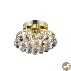 Christopher Knight Home Gold Three-Light Chandelier with Crystal Drops - Overstock™ Shopping - Great Deals on Christopher Knight Home Chandeliers & Pendants