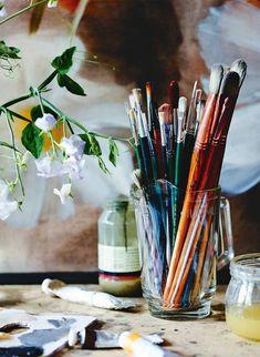 Art Sketches, Art Drawings, Art Hoe Aesthetic, Atelier D Art, My Art Studio, Artist Life, Art Studios, Art Inspo, Painting & Drawing