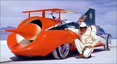 The Green Monster...Art Arfons was 1 of the most talented backyard mechanics ever to tackle the land and water speed records