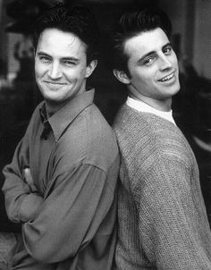90s Matthew Perry and Matt Le Blanc