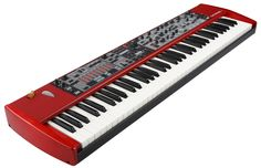 http://www.nordkeyboards.com my wonderful gear the past and the future in one red machine hand made