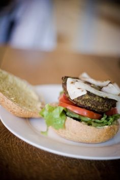 Pesto Shiitake Mushroom Burgers with Homemade Mayonnaise