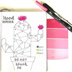 Themed bullet journal: life in pink Lisly s world Bullet Journal Tracker, Bullet Journal Headers, Bullet Journal 2019, Bullet Journal Notebook, Bullet Journal School, Bullet Journal Inspo, Bullet Journal Spread, Bellet Journal, Art Journal Pages