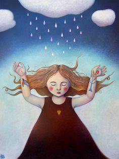 weird, I've always wanted to rain dance! | The Rainmaker (by Isabelle Bryer)