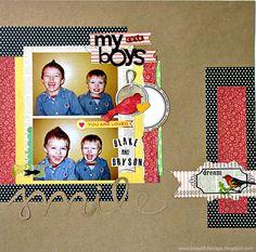 My cute boys - Scrapbook.com