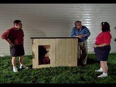 Как сделать утепленную будку для cобаки своими руками. - YouTube