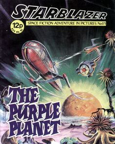 Cover for Starblazer (D.C. Thomson, 1979 series) #11