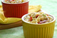 Creamy Dreamy Macaroni Salad Recipe | Hungry Girl--1 c = 4 pts