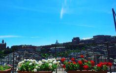 #buongiorno #splendida #vista dalla nostra #camera #Siena #affascinante #toscana #hotelminervasiena