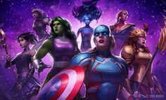We have some good news and bad news for Marvel Future Fight players now. The good news is that we can confirm that a new update is coming this week on August adding She-Hulk, Ms Marvel, Marvel Comics, March Of Empires Hack, World War Hulk, Marvel Future Fight, Contest Of Champions, Game Update, Hacks, Hack Online