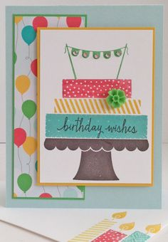 Build A Birthday You can purchase supplies at www.sharikeller.stampinup.net