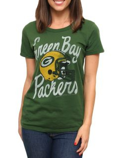 62a12418a Junk Food Clothing - - NFL Green Bay Packers Vintage Kick Off Crew Packers  Pro Shop