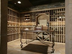 The perfect wine cellar for the serious wine connoisseur! Plan 071S-0002 | House Plans and More