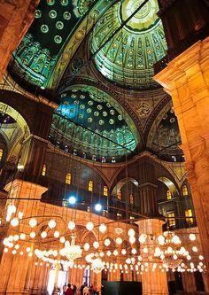 "Mohamed Ali Pasha "" Alabaster"" Mosque, Cairo, Egypt"