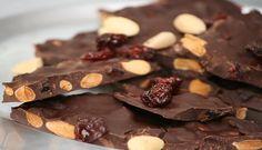 Cherry Almond Chocolate Bark | Primal Diet and Paleo Recipes Blog