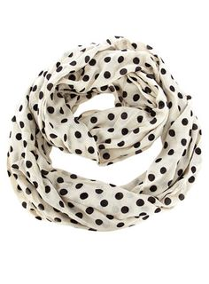 48b88fb3612 Polka dot infinity scarf -  21 Polka Dot Scarf