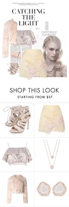 """Glow"" by silverflower96 ❤ liked on Polyvore featuring Carvela, 3.1 Phillip Lim, River Island, Michael Kors, RED Valentino, Kimberly McDonald and Givenchy"