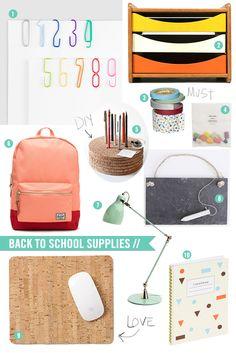 Back to School Supply List // LoveCreative Blog