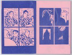 Escape Plans - 32 pages - Risograph comic/zine - 2015