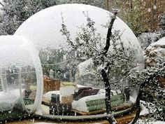 Bubble Rooms,Winter - Marseille France