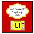This very useful set of playdough mats can be used over and over in Literacy Centers. Children can work independently to make the capital and lower...