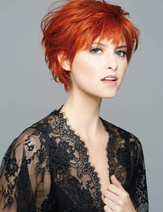 76 Best Coupe courte cheveux fins images in 2019 | Coupe courte cheveux fins, Coiffures cheveux ...
